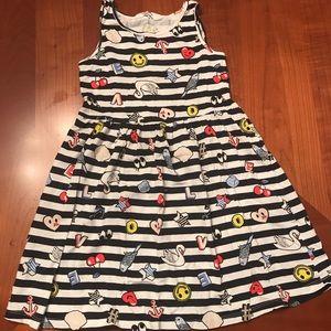 H&M dress with stripes size 6-7
